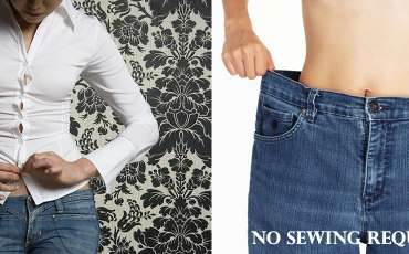 11 less-than-a-minute NO SEW clothing hacks to fix oversized clothing