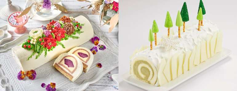 9 gorgeous log cakes for your loved ones this Christmas