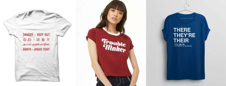 15 statement tees that make you stand out from the boring crowd