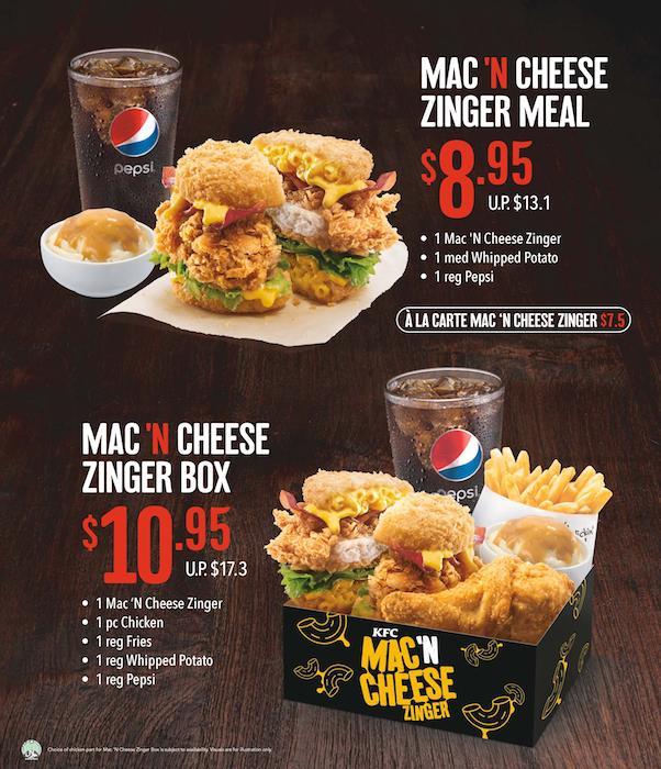 KFC-Mac-N-Cheese-Zinger-burger-sets