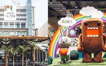 The Market Bangkok: Coolest new hangout in Thailand, even has a Domo-kun cafe