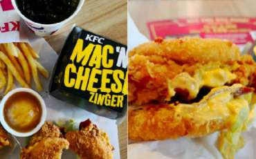 KFC launches Mac 'N Cheese Zinger. We tried it and tell you how it's like