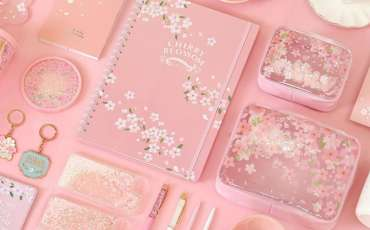 Extensive collection of Sakura-themed products at Daiso?! Find out where to get them