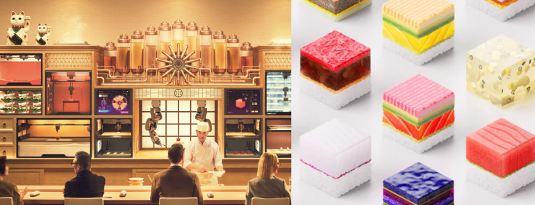 3D-printed sushi is the new addition to your Tokyo bucket list. Here's where to find it!