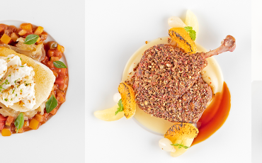 Air France is now serving meals by the two-Michelin-starred chef behind Odette