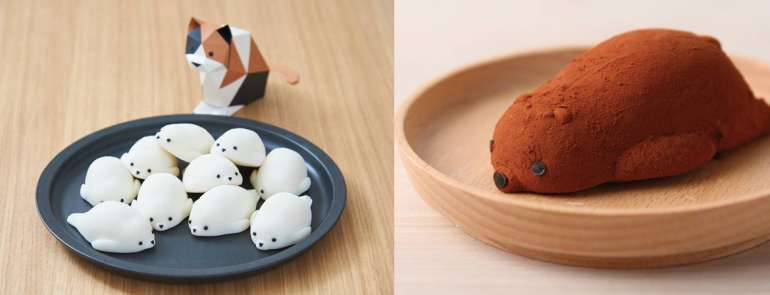 This Thai confectionery makes the cutest animal-shaped daifuku that we can't bear to put in our mouths