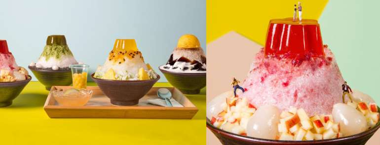 Too cute! Shaved ice that look like Taiwan's mountains you need to feature on your Instagram feed