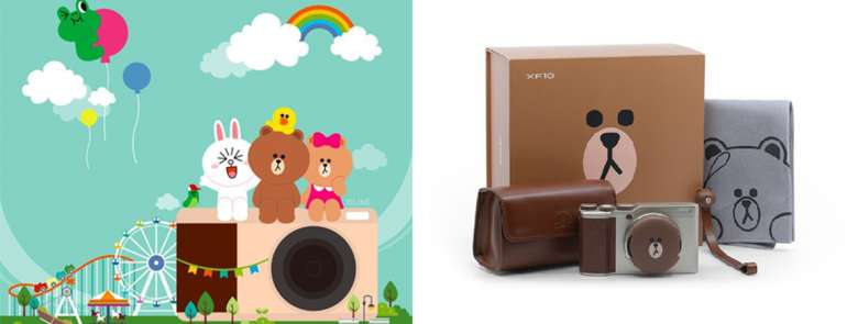 FUJIFILM Korea collaborates with Line Friends for the cutest camera collection we've seen