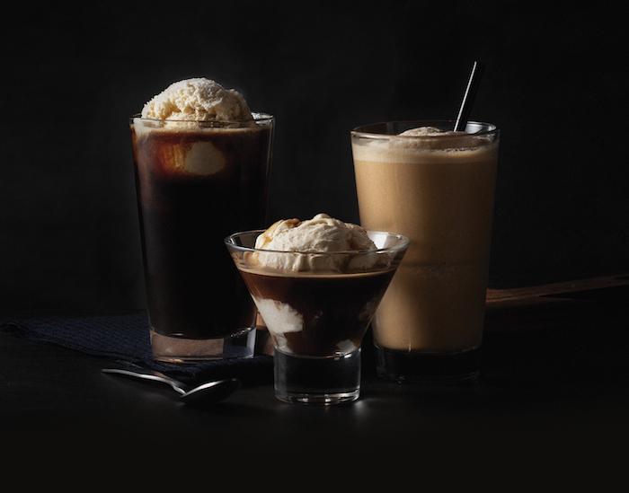 starbucks ice-cream beverages
