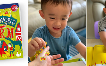 Stickers World: Farm review – Will a kid enjoy and learn from it?