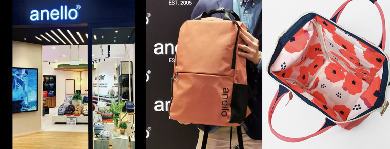 Anello opens first official store in Singapore and it's offering an attractive discount