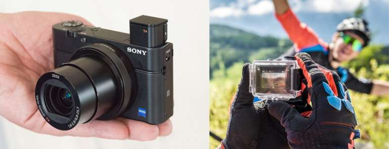 16 best compact cameras for travel, including alternatives to GoPro!