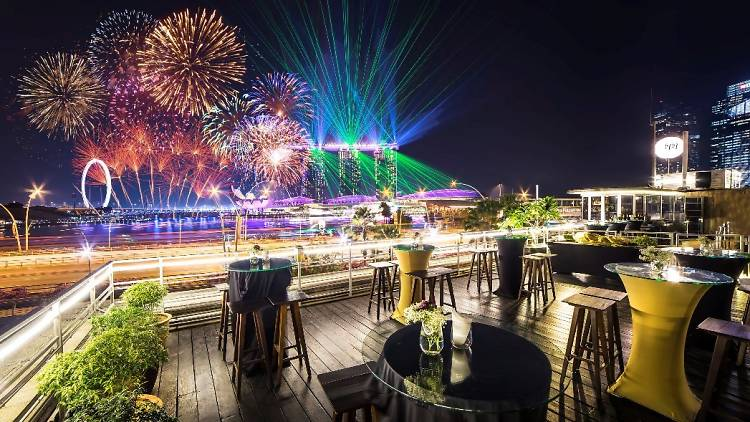 11 best restaurants and bars to watch NDP 2019 fireworks from