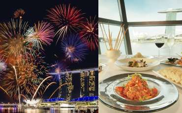 10 best restaurants and bars to watch NDP 2019 fireworks from
