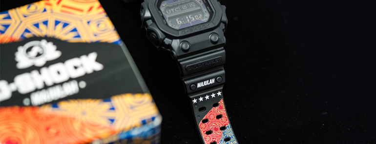 G-Shock launches limited edition timepiece exclusively in Singapore to celebrate the nation's 54th birthday