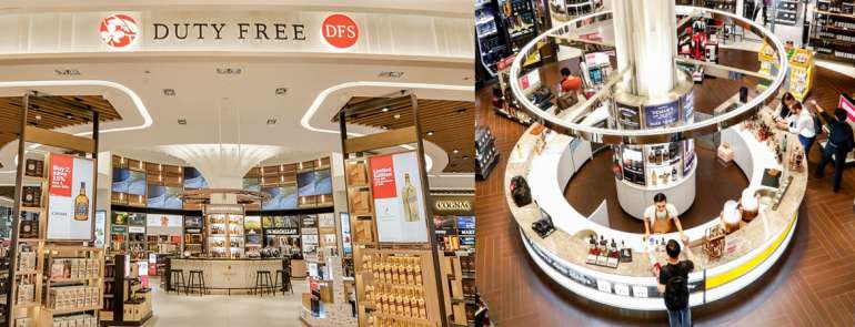 You will no longer be able to buy duty-free liquor and tobacco from DFS in Changi Aiport