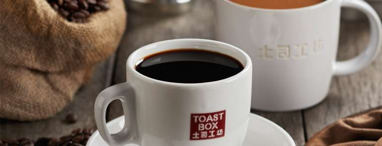 Redeem a FREE small hot Kopi or Teh from Toast Box