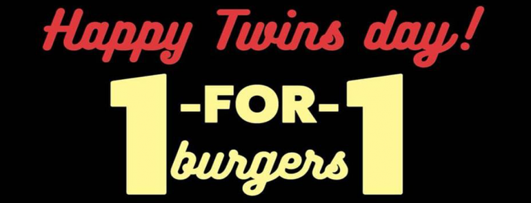Wear twinning outfits to lunch at Fatburger and enjoy a 1-for-1 deal this August