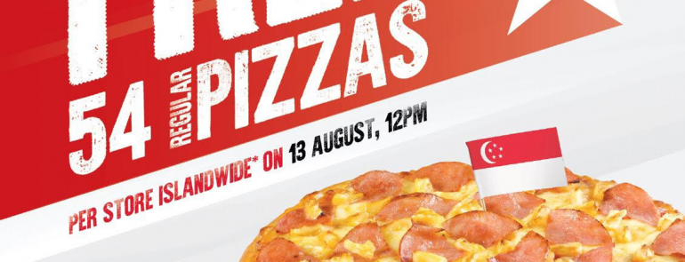Get your FREE pan pizza from Pizza Hut on 13 August 2019 – no purchase required!