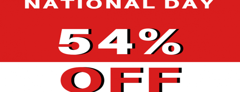 Take 54% off selected apparel at Playdress – just in time for National Day