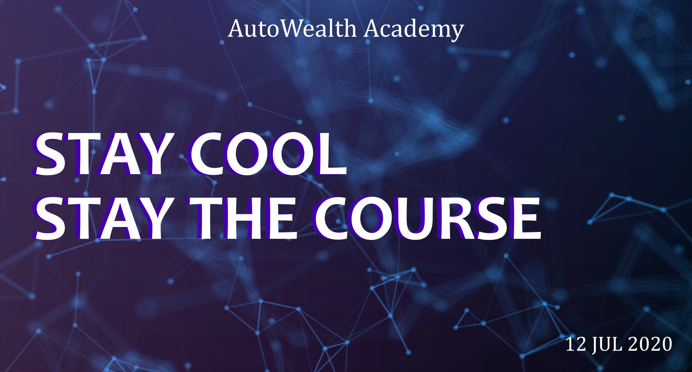 Stay Cool Stay The Course