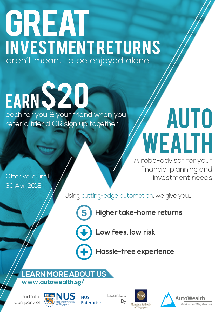 AutoWealth Referral Promotion For Sharing