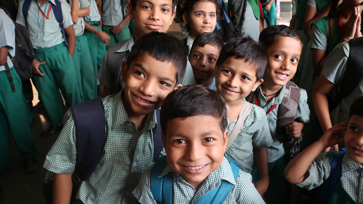 students from Save the Children India