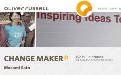 Oliver Russell: Change Maker Masami Sato