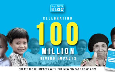 100 Million Smiles – and a Thank You gift to take your impact to the next level