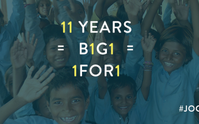 Celebrating the 150 million giving impacts.