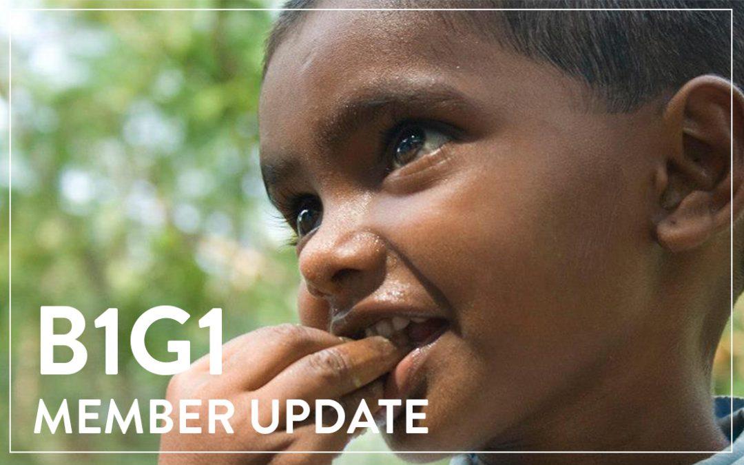 B1G1 Member Update – May'19