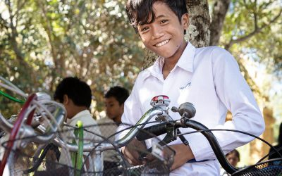 Enhancing Child Education One Bicycle at a Time