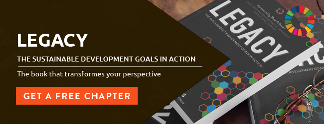 Get a sample chapter of the Legacy - The Sustainable Development Goals in Action book at b1g1.com/legacy