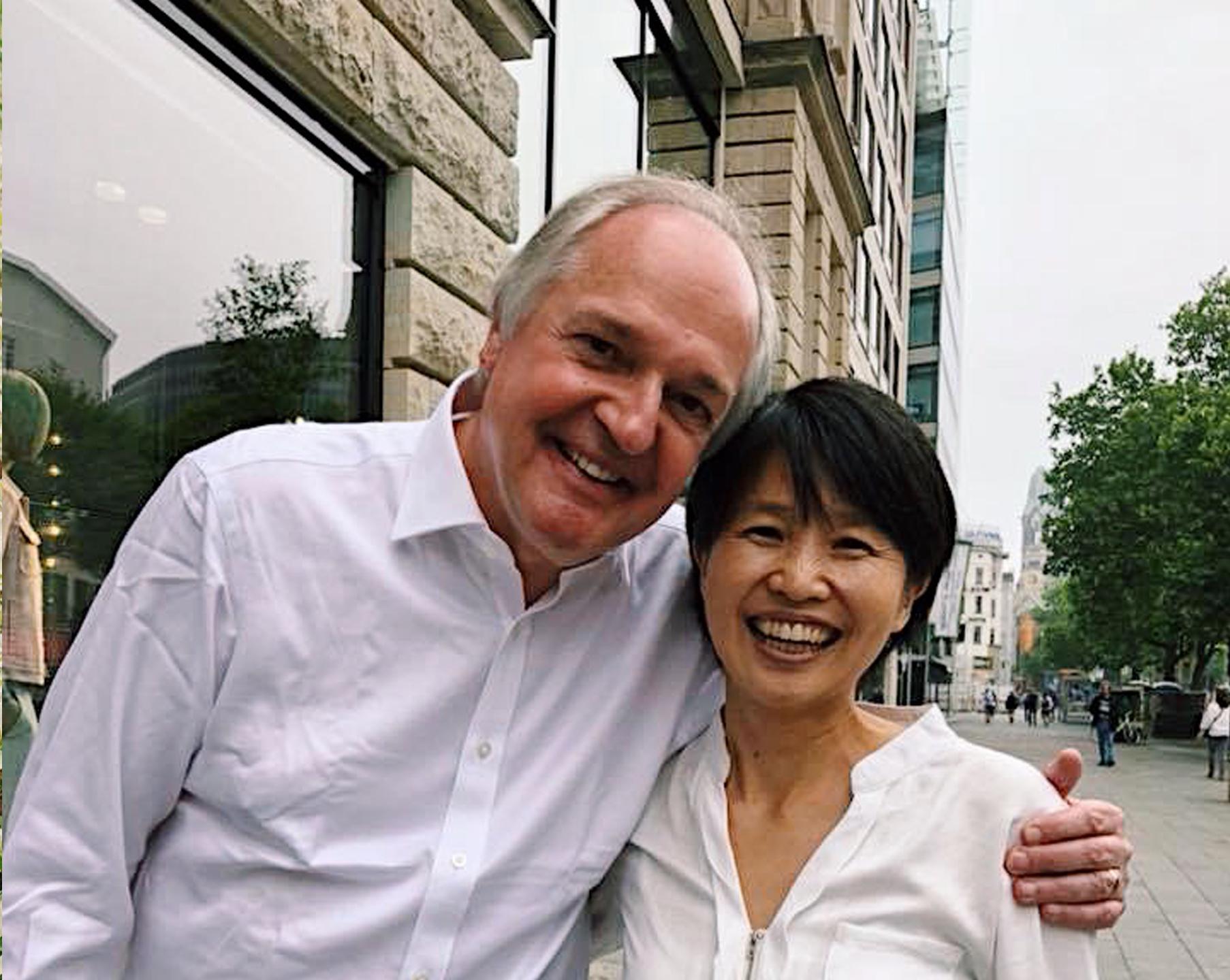 Paul Polman and Masami Sato