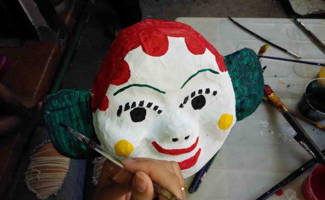 Paper Masks: Preserving an Ancient Craft