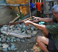 crossbow shooting in Luang Prabang