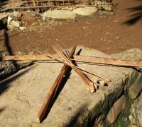 Crossbow making in Luang Prabang