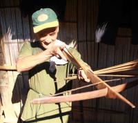 Luang Prabang crossbow making