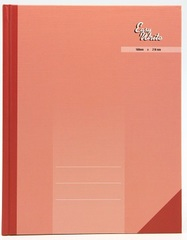 EASYWRITE Hard Cover Book 200 Pages 3 Column Quoto Size