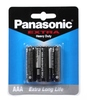 PANASONIC Battery AAA Extra  Heavy Duty (4 PCS / PACK)