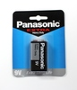 PANASONIC Battery 9 Volt Square Size Extra Heavy Duty