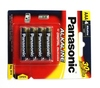 PANASONIC Battery AAA Alkaline / Evolta (4 PCS / PAC)K