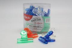 DINGLI Hand Clip Transparent Colour 31MM 69604 (24 PCS / DRUM)