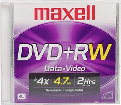 MAXELL DVD+RW 4.7GB 1-4x