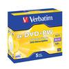 DVD+RW 4x VERBATIM (43229)
