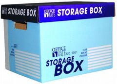 "STORAGE BOX OFFICEMATE 6051 (12.5""LX15.5""WX12""H)"""