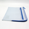 KD SQZ1356 A4 Zip Netting Holder 2Comp 23x32cm