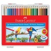 Watercolour Pencil F/Castell Parrots 114564 24L In Wonder Box