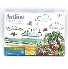 %$ Artline Oil Pastel Triangular 36 Colour EOPT-A