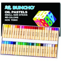 OIL PASTELS BUNCHO 2159/48 SMALL 48COL.